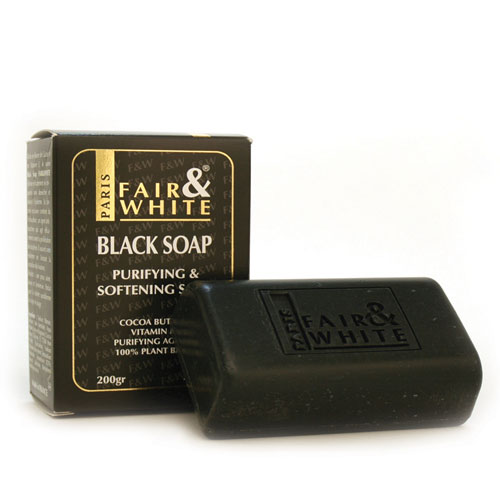Fair & White Original Black Soap 200gm