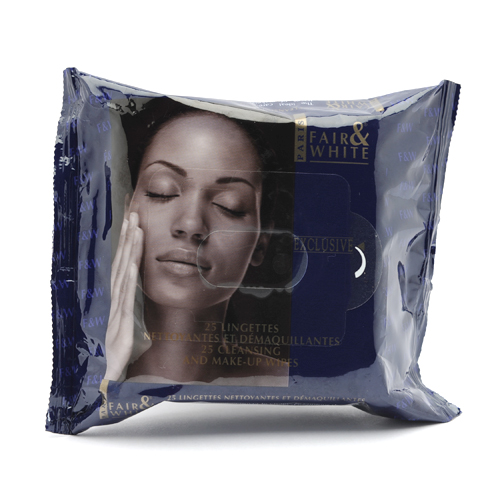 Fair & White Exclusive Make-up Wipes 25ct