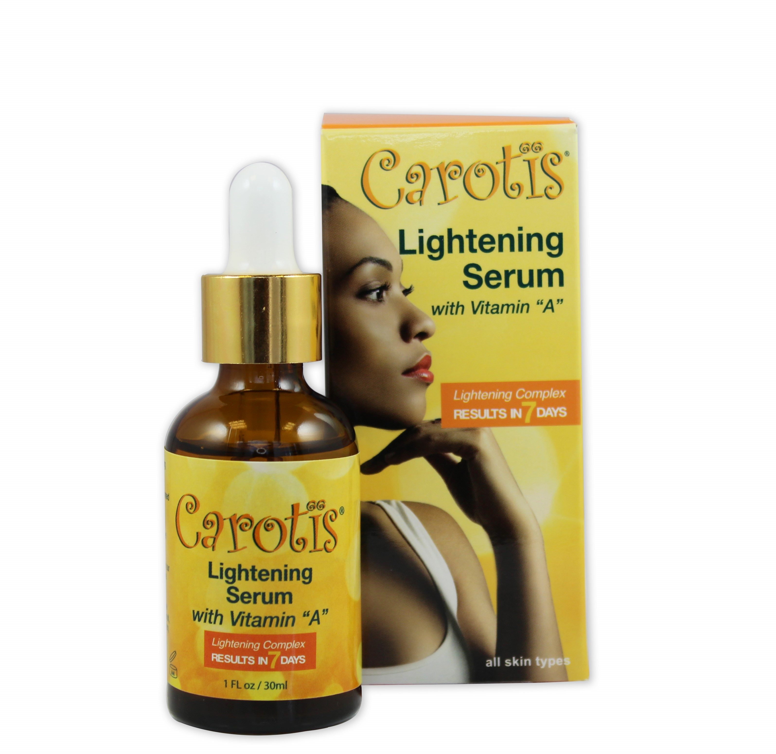 Carotis Lightening Serum - Results In 7 Days