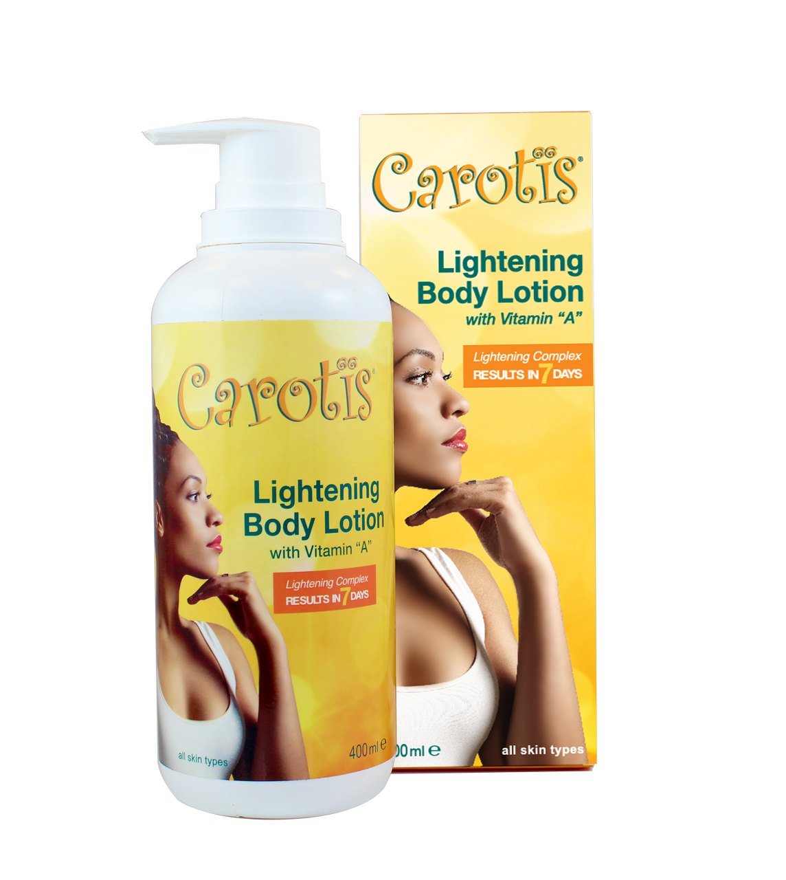 Carotis Lightening Body Lotion Results In 7 Days W Vitamin A