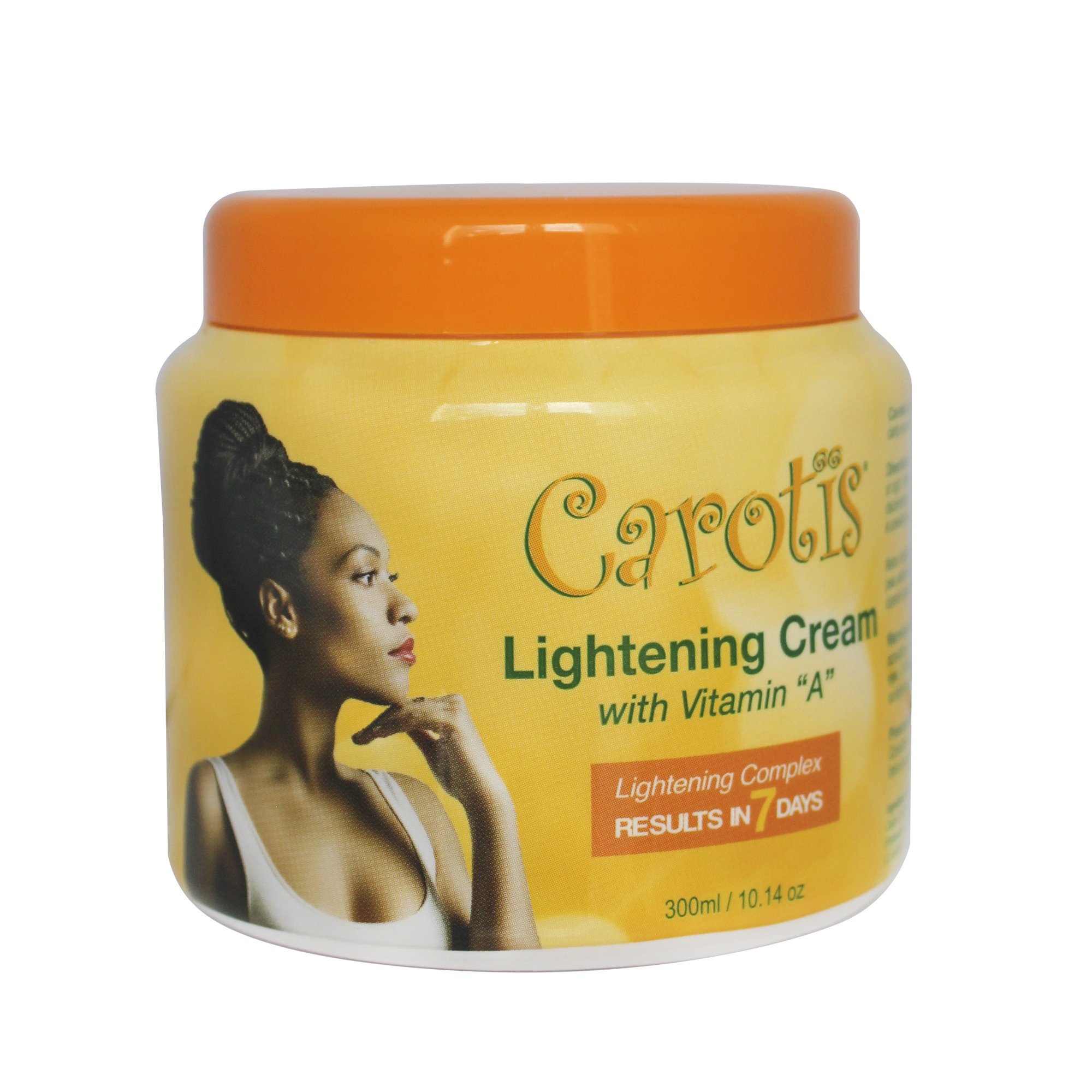 Carotis Lightening Cream  w Vitamin A (R 7 days)  (Jar)