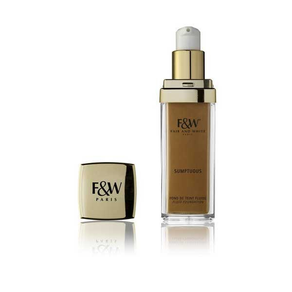 Fair and White Make Up - Sumptuous Mineral Fluid Foundation